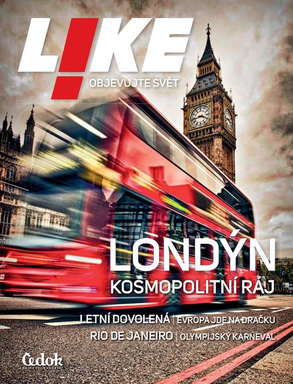 Titulní strana prvního vydání časopisu Like
