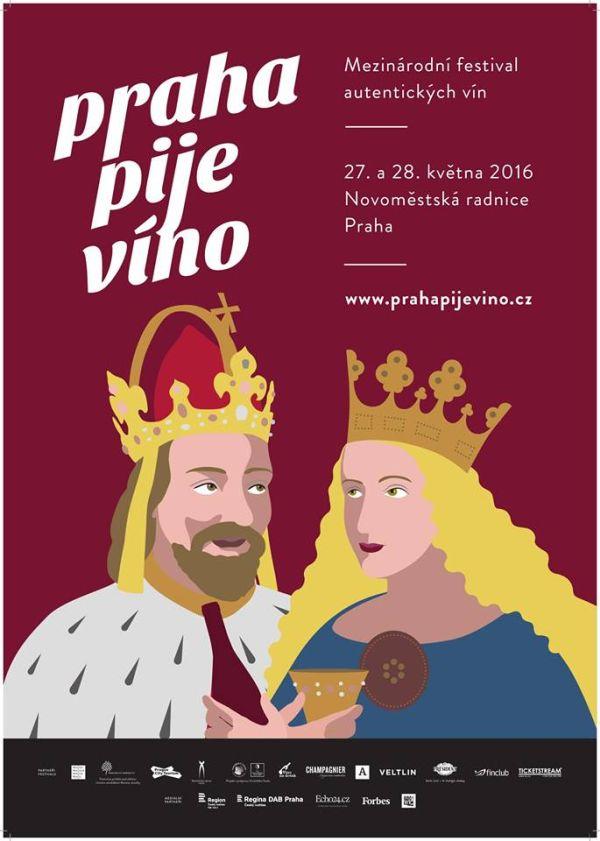 Kampaň projektu Praha pije víno odstartuje v prvních květnových dnech