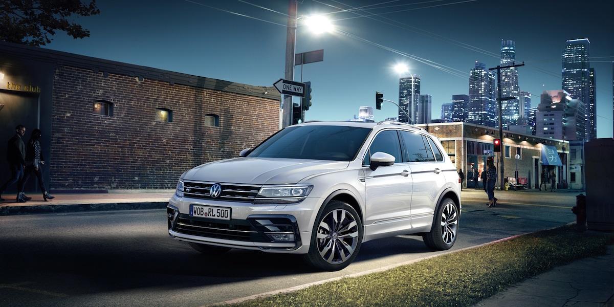 Volkswagen Tiguan v kampani Kaspenu