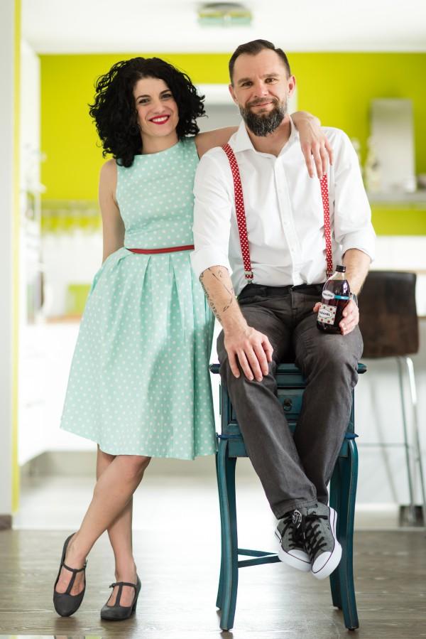 Manželé Szumovi, kteří za vznikem nové značky Yim & Piu stojí