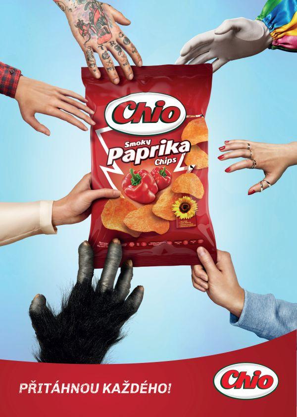 Chio Chips chce oslovit zákazníky napříč všemi generacemi