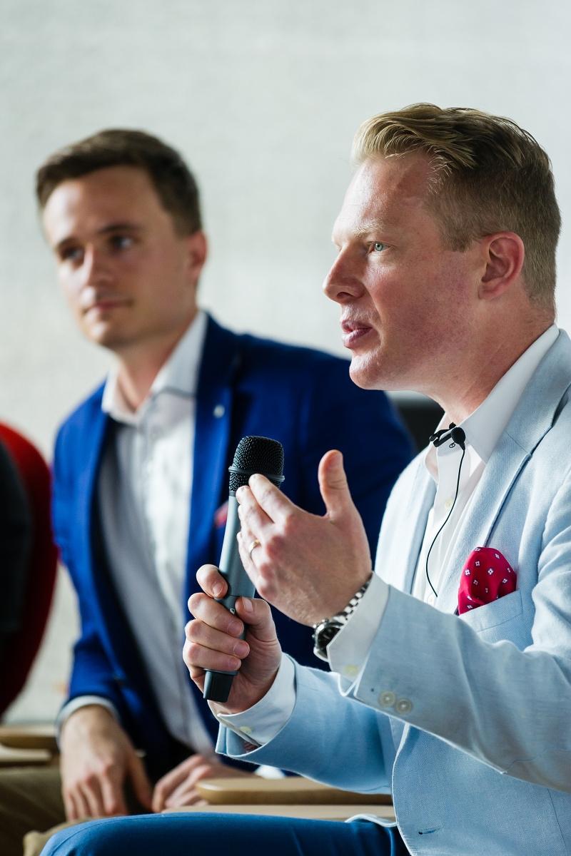 Jan Somol a Patrik Schober. Foto: Vojta Herout