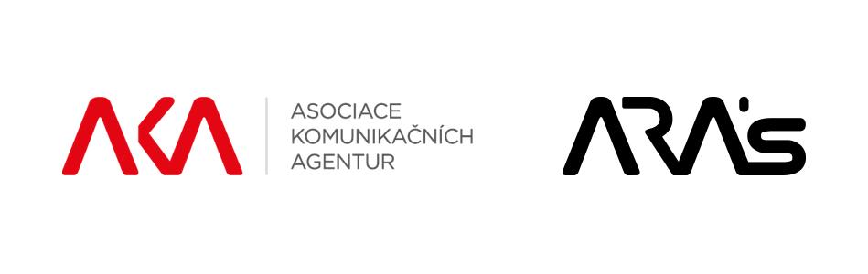 Inovovaná loga AKA a její servisní organizace ARA's