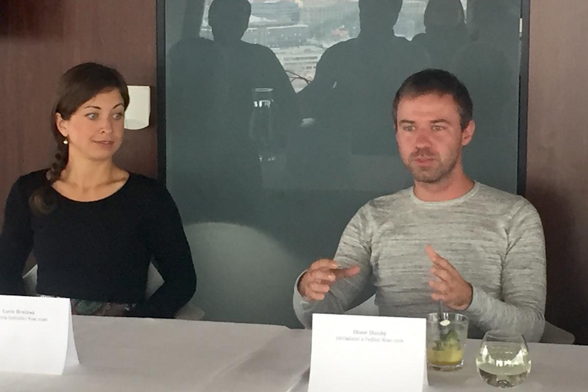 Lucie Brešová a Oliver Dlouhý