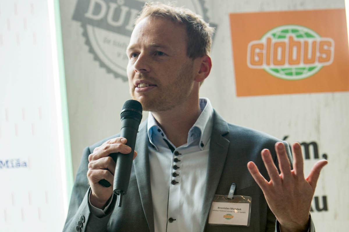Vedoucí vývoje nových kanálů Globusu Bronislav Matyšek