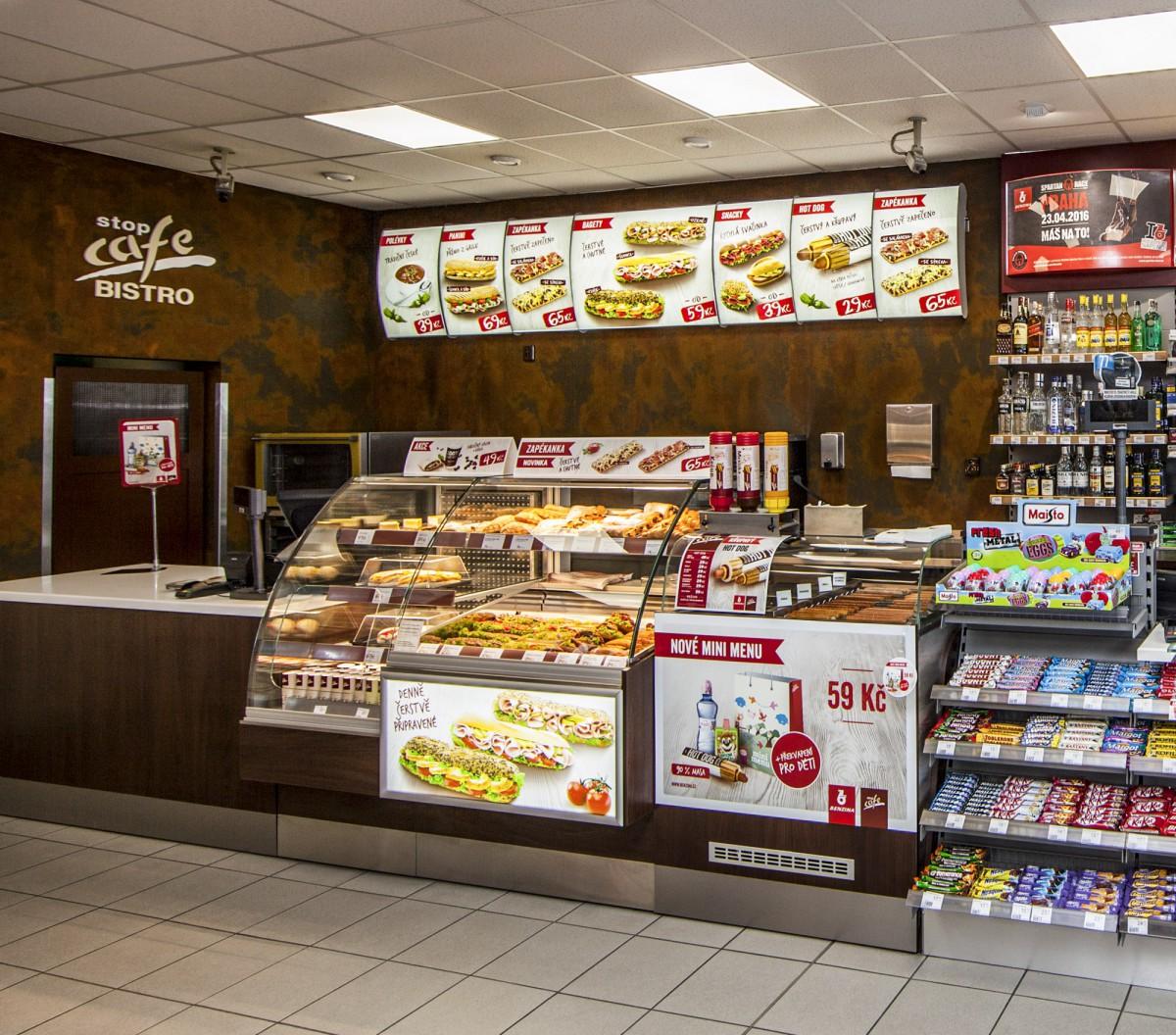 Rozšířený sortiment Stop Cafe Bistra