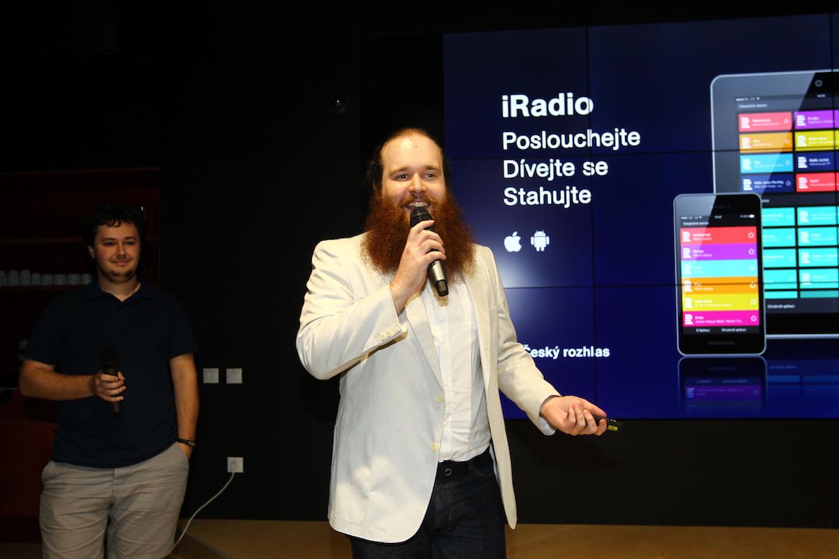 Tým Českého rozhlasu přispěl s novou aplikací iRadio