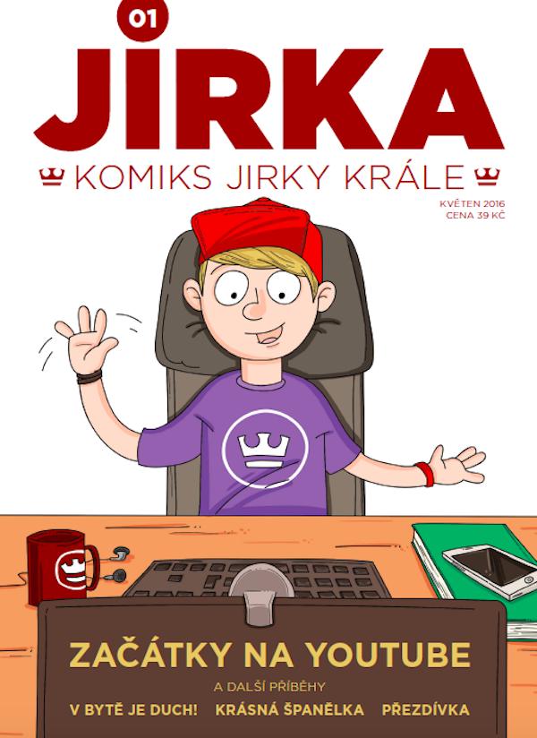 Titulní strana komiksu Jirka