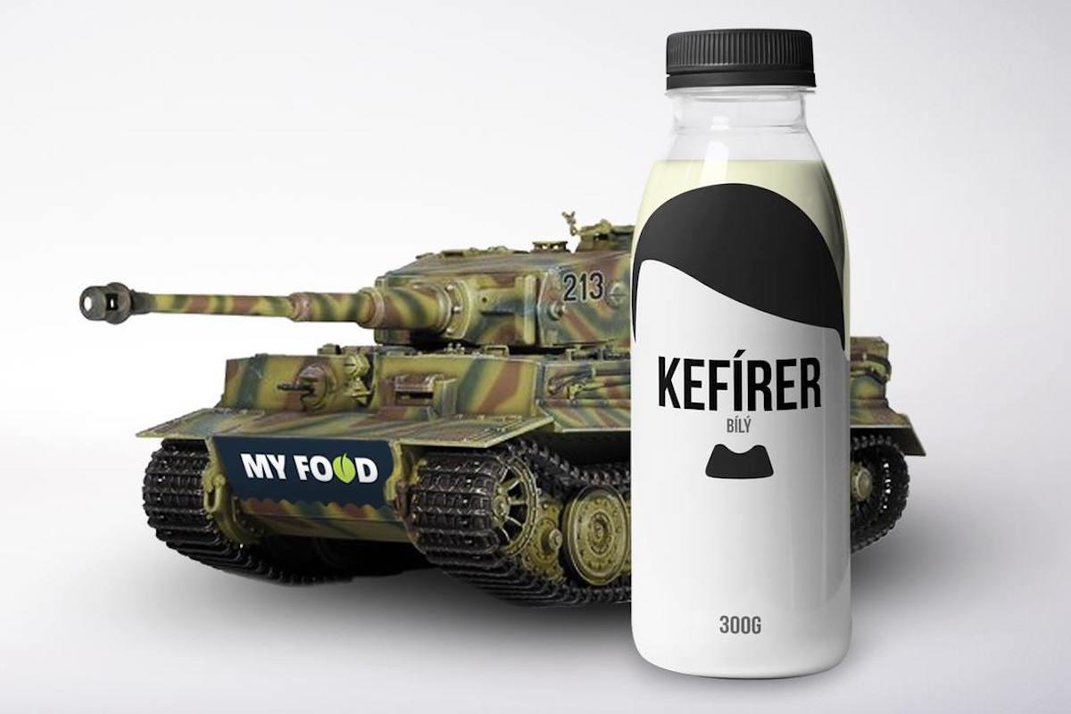 """Díky """"blitzkriegu"""" fanoušků na Facebooku se Kefírer dostal ke spolupráci s prodejnami My Food"""