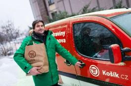 Košík.cz rozšiřuje rozvoz mimo Prahu