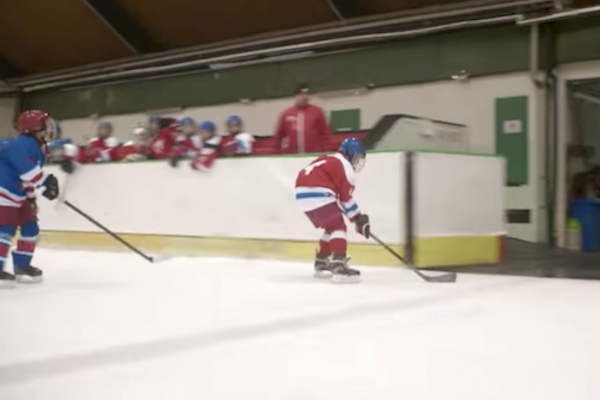 Malý offroad hokejista v kampani Škodovky