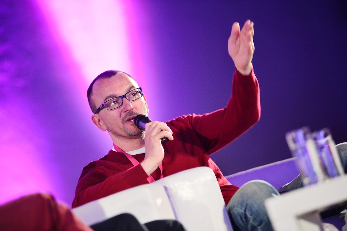 Tomáš Průša na festivalu PIAF. Foto: Radana Čechová