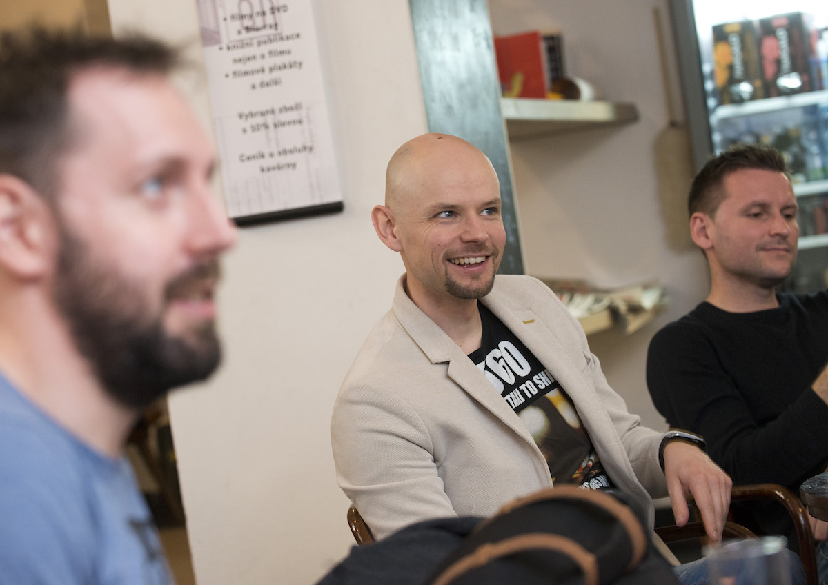 Tomáš Nádr, Vladimír Rejlek, Eduard Piňos. Foto: David Bruner
