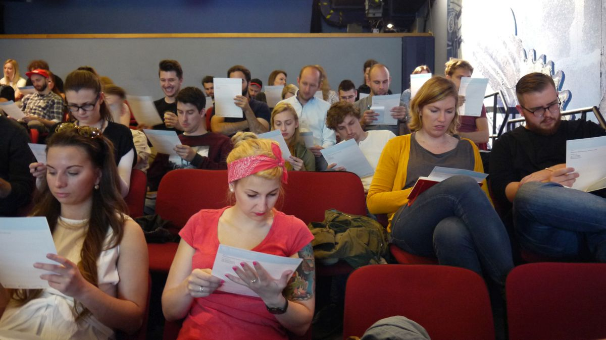 Soutěžící opět zaplnili pražské Divadlo Metro