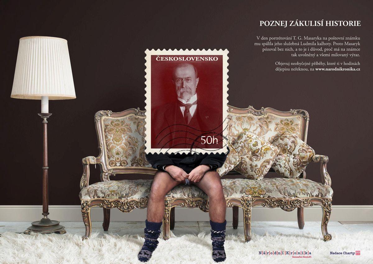 Jako třetí se umístil inzerát dvojice Jakub Havlík a Markéta Kolodžejová ze Saatchi & Saatchi
