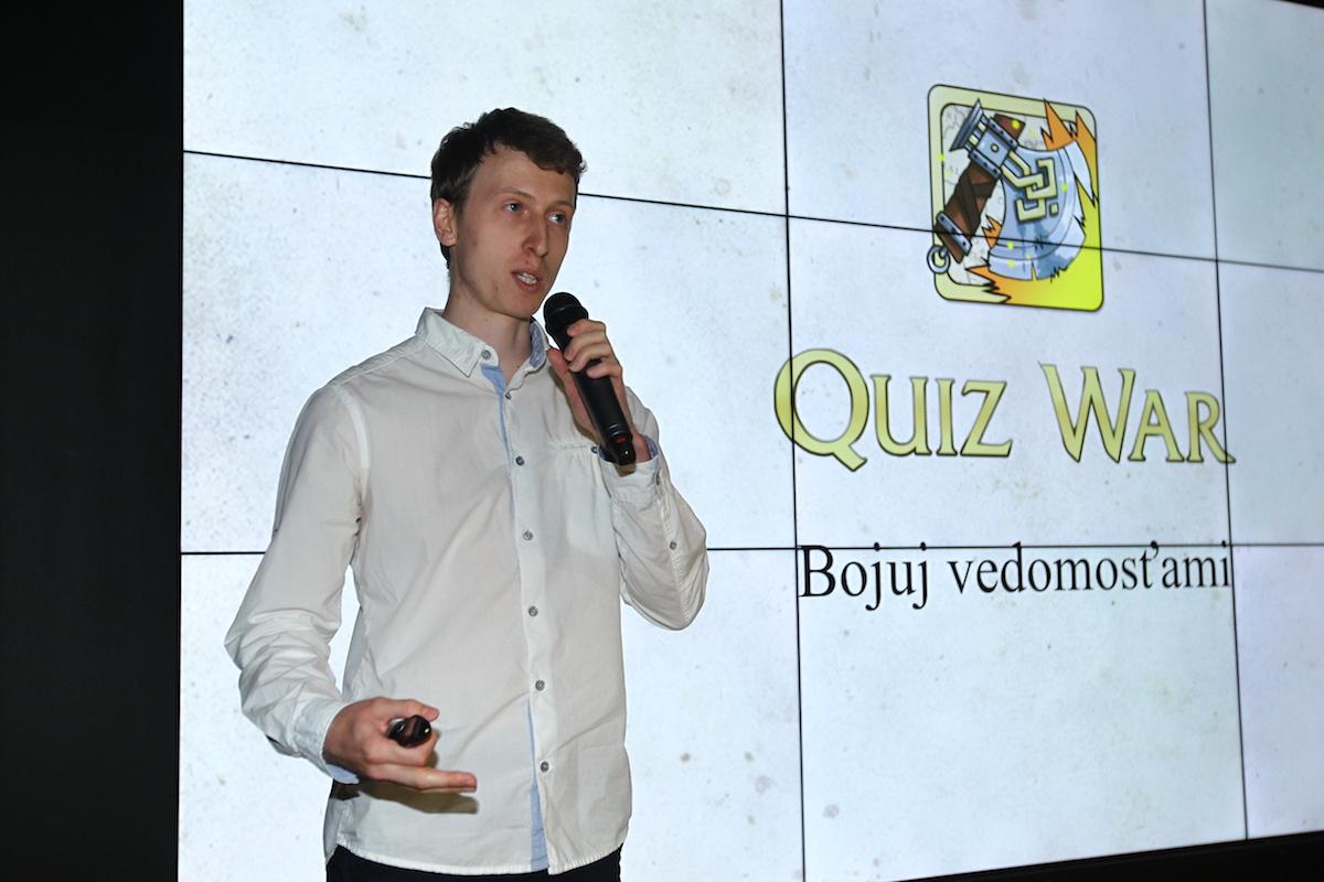 Ivan Homola nabídl hru Quiz War