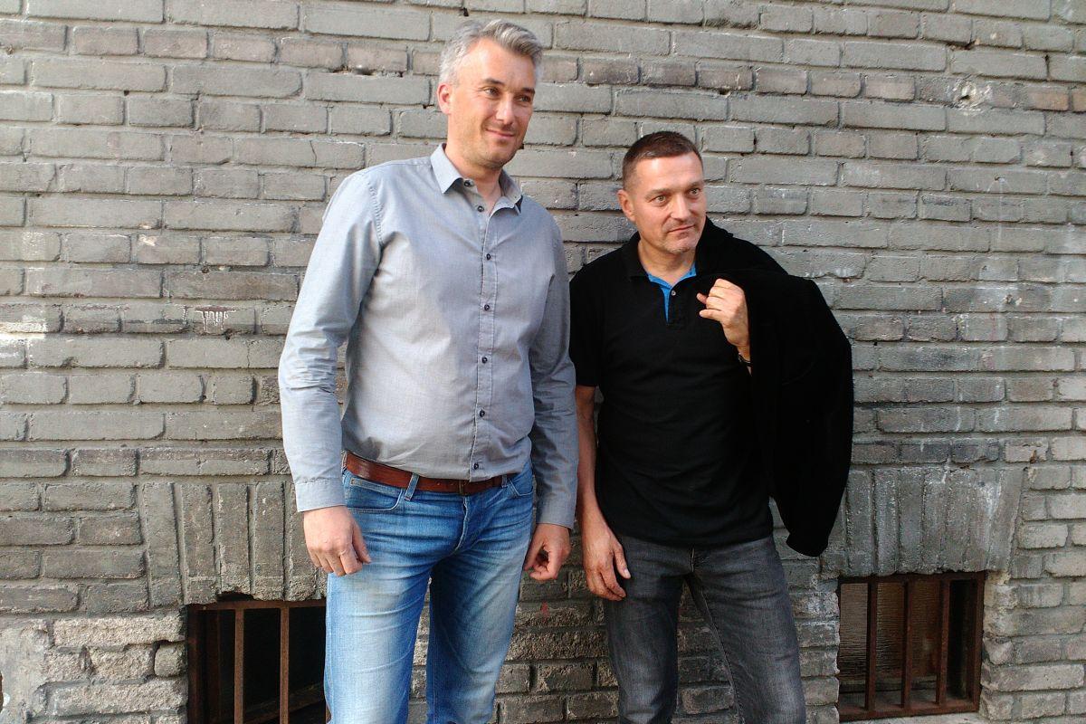 Zleva Jan Holanec a Petr Havlíček