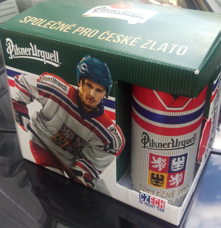 Plzeňské pivo v novém obalu