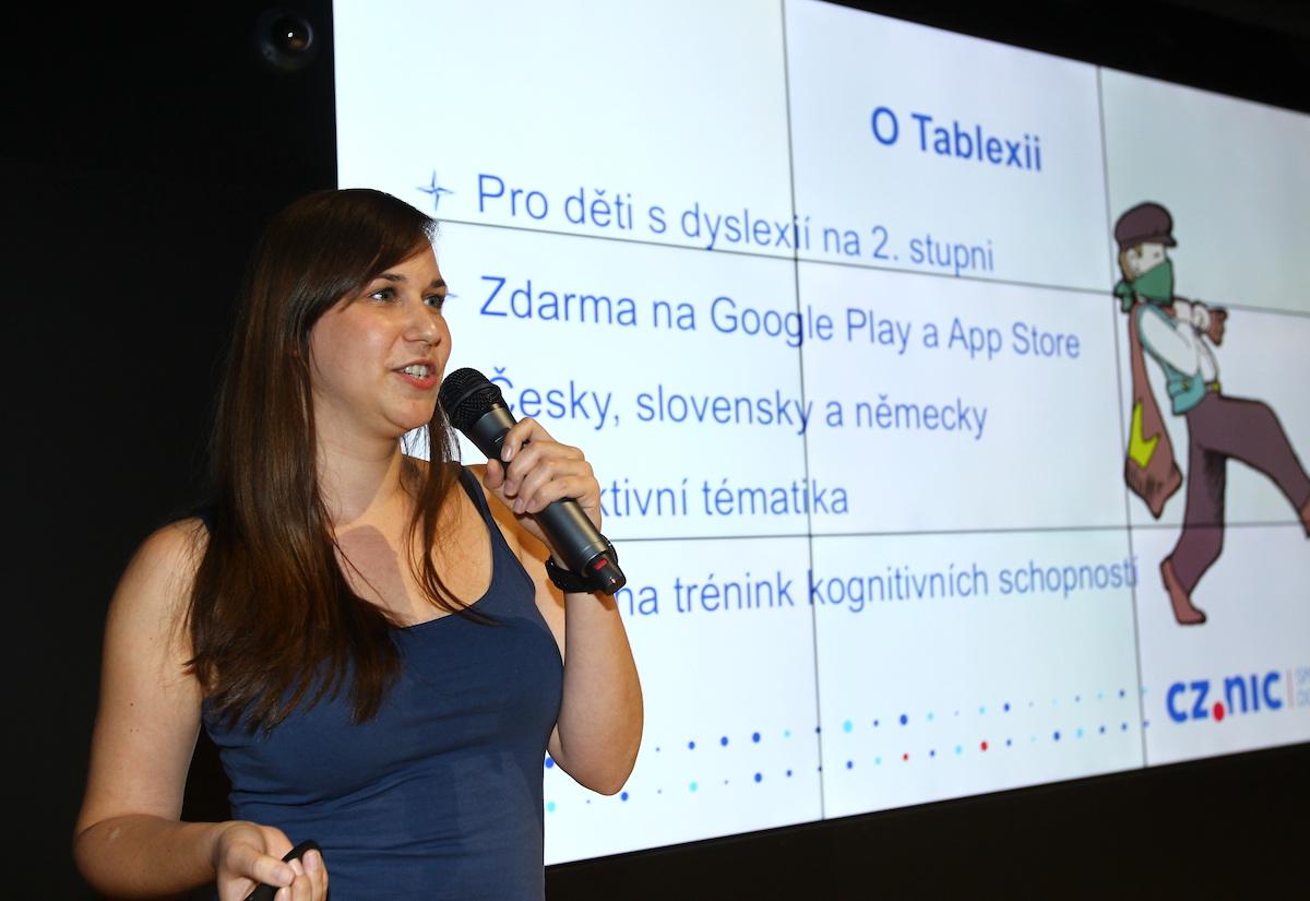 Andrea Šíchová přišla s Tablexií