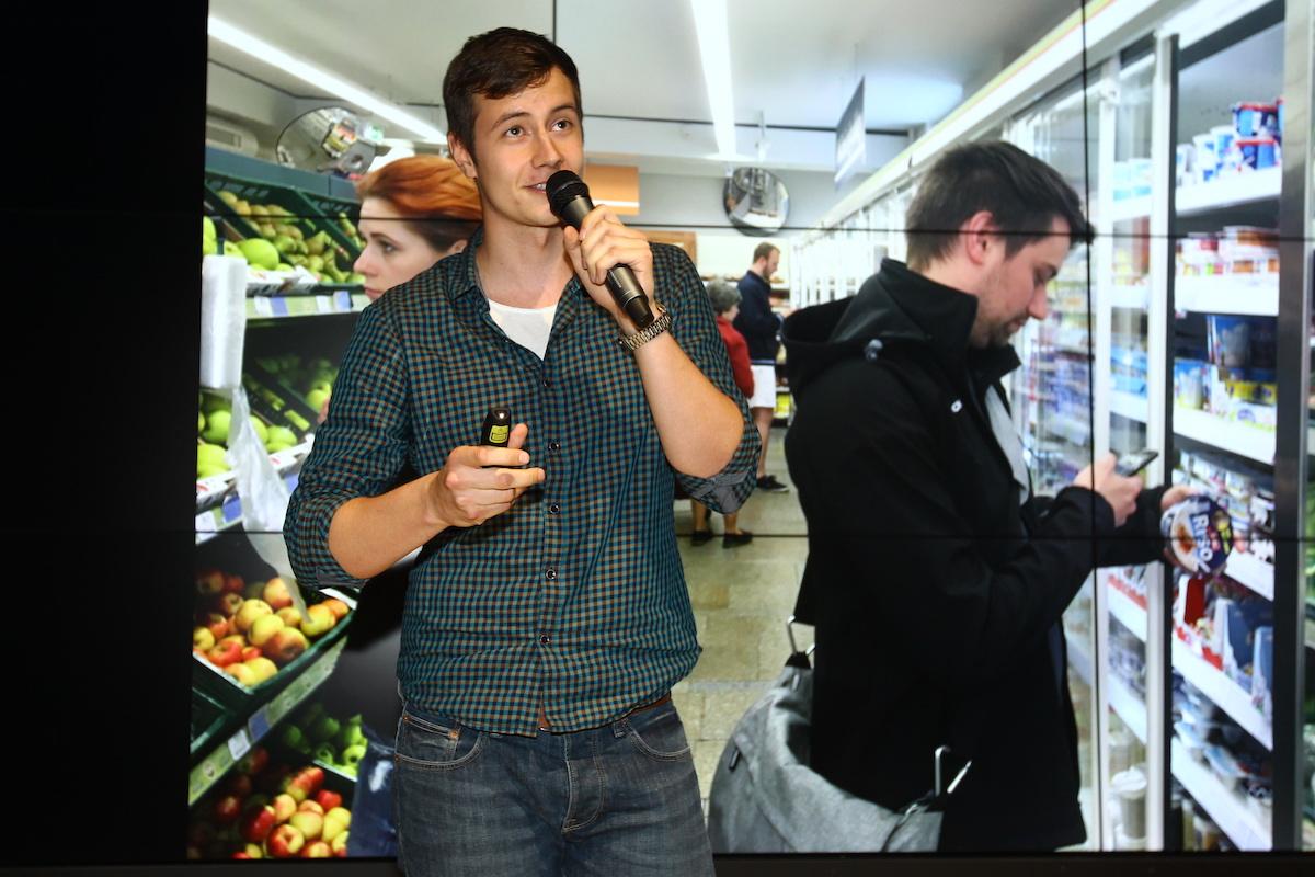 Vladimír Eliáš vytvořil skener potravinových výrobků Tasty