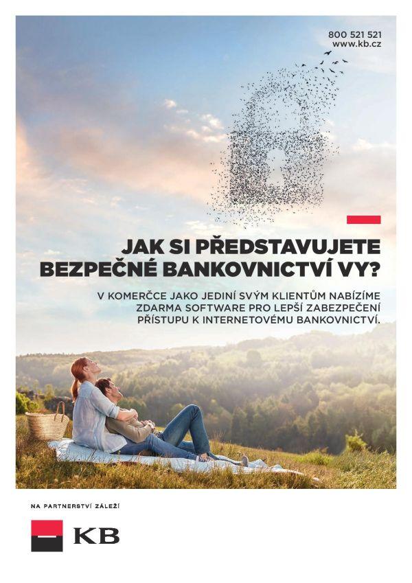 Komerční banka chce být spolehlivým partnerem svým klientům, důraz na to klade v nové kampani