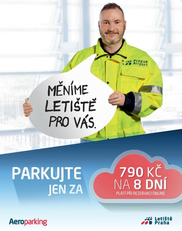 Letiště Praha v produktové části komunikuje nové výhody