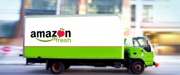 Amazon Fresh zatím dodává jen v Londýně a v Berlíně