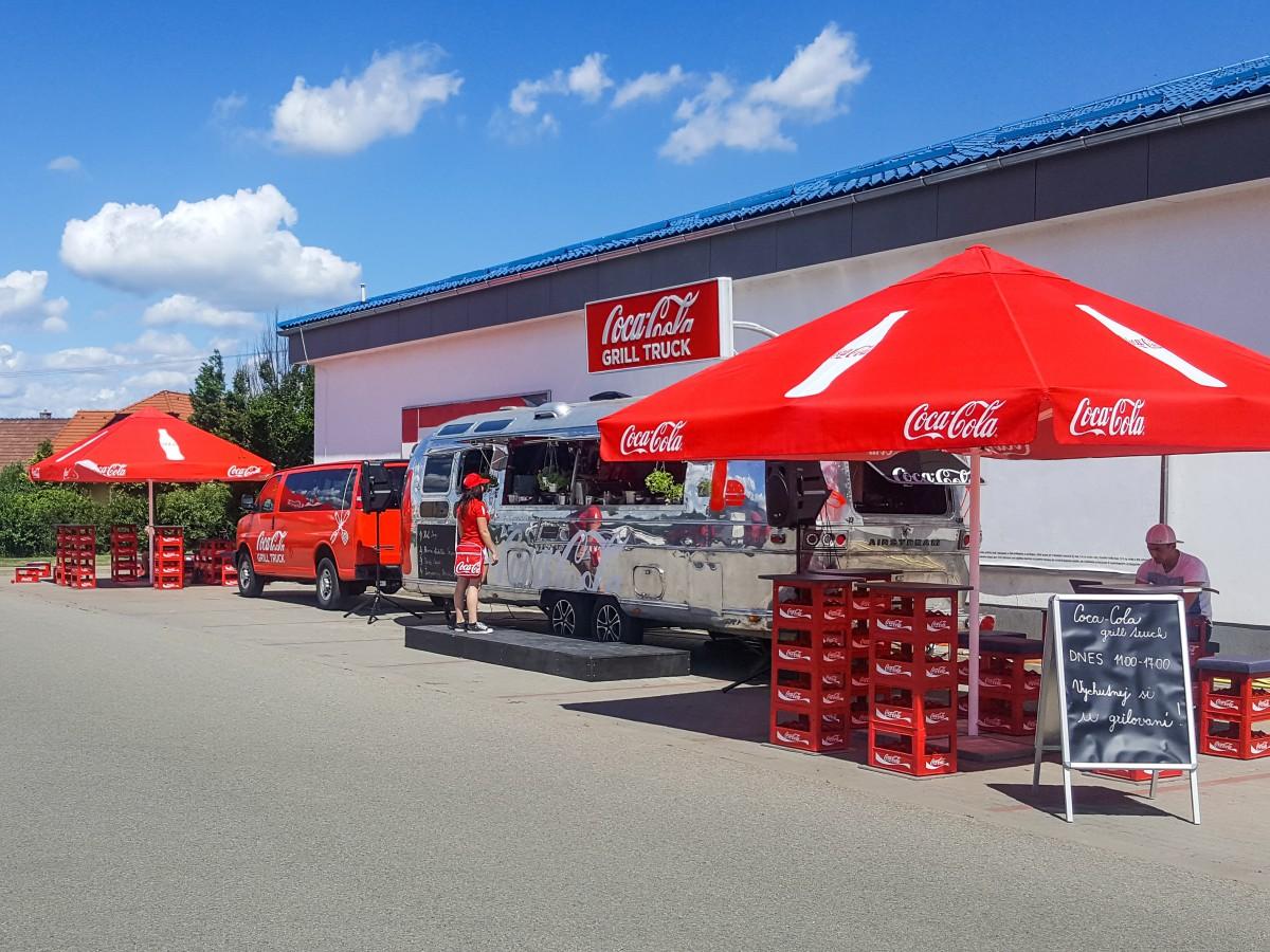 Coca Cola vyráží v rámci Čech a Slovenska na tour