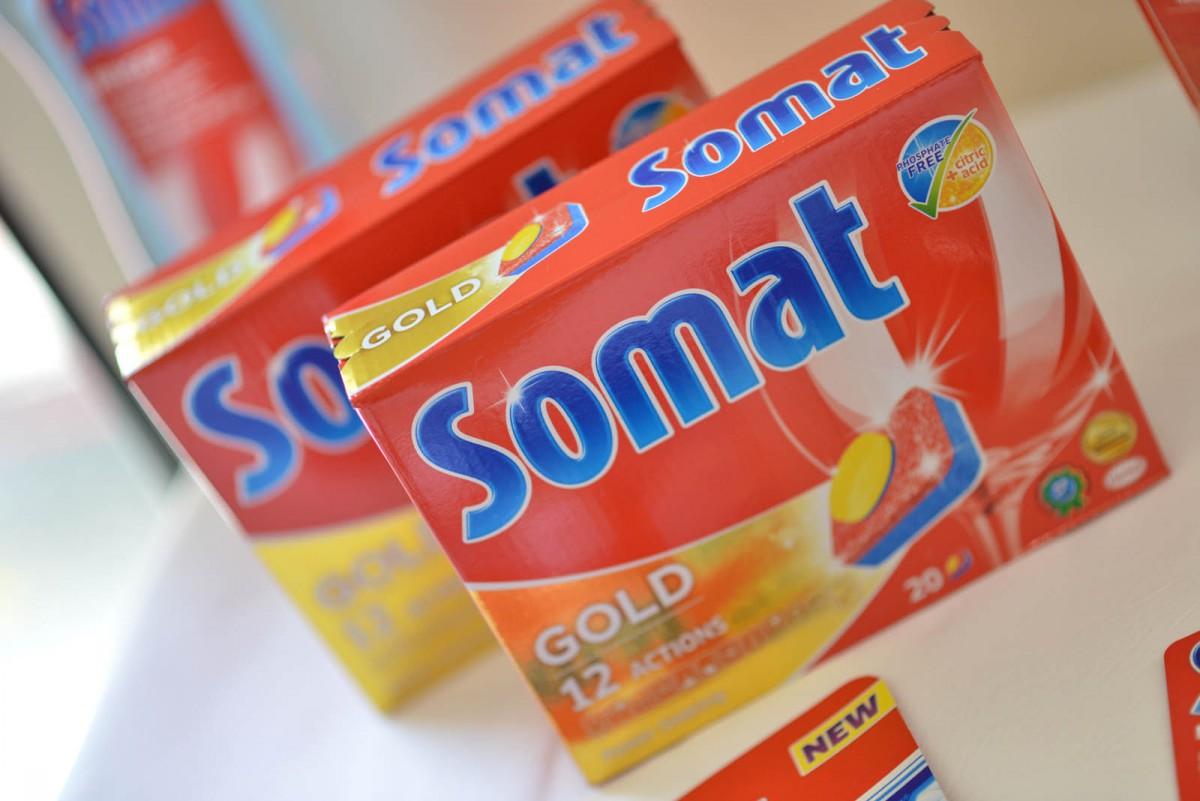 Nová řada Somatu myje bez fosfátu, nahradila je kyselina citrónová