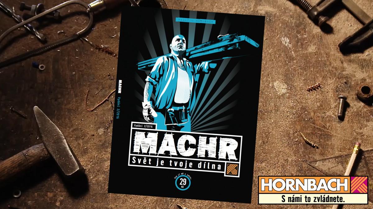 Hornbach vydává druhé číslo magazínu Machr