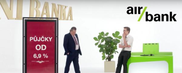 Nový spot Air Bank je vítězem týdne