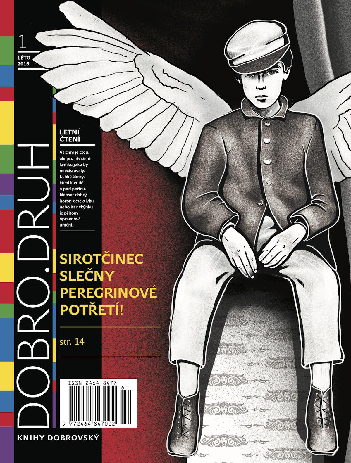 Titulní strana prvního vydání magazínu Dobro.druh