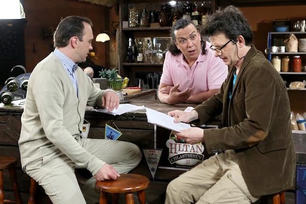 Jiří Hána, Richard Genzer a Jan Šťastný. Foto: TV Prima