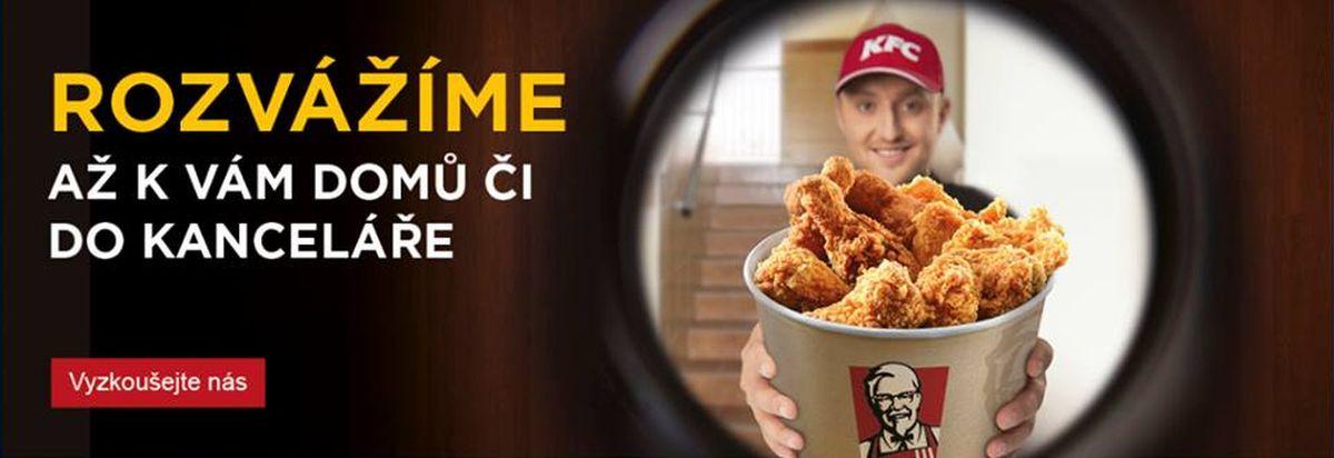 Rozvozovou službu KFC neodstartovalo šťastně