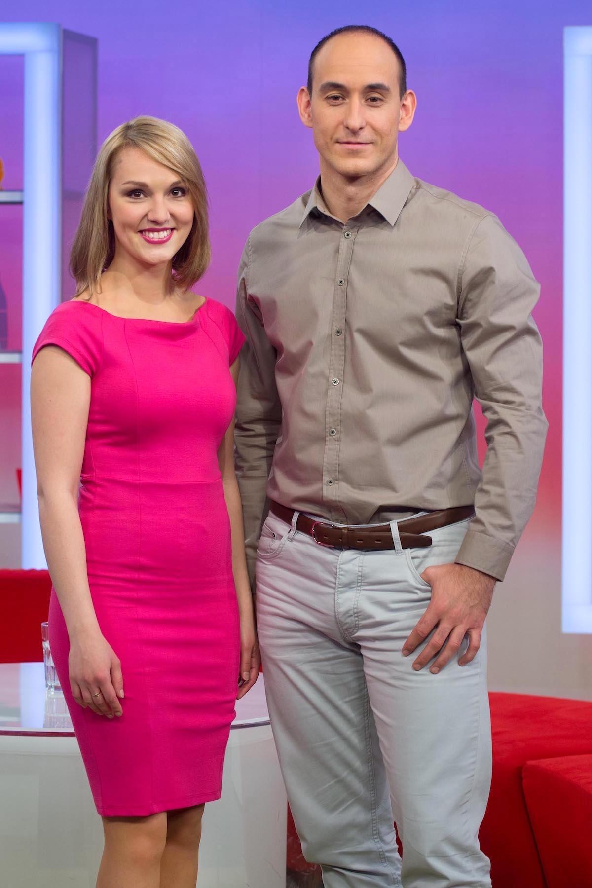 Ema Klementová a Lukáš Maule. Foto: TV Nova