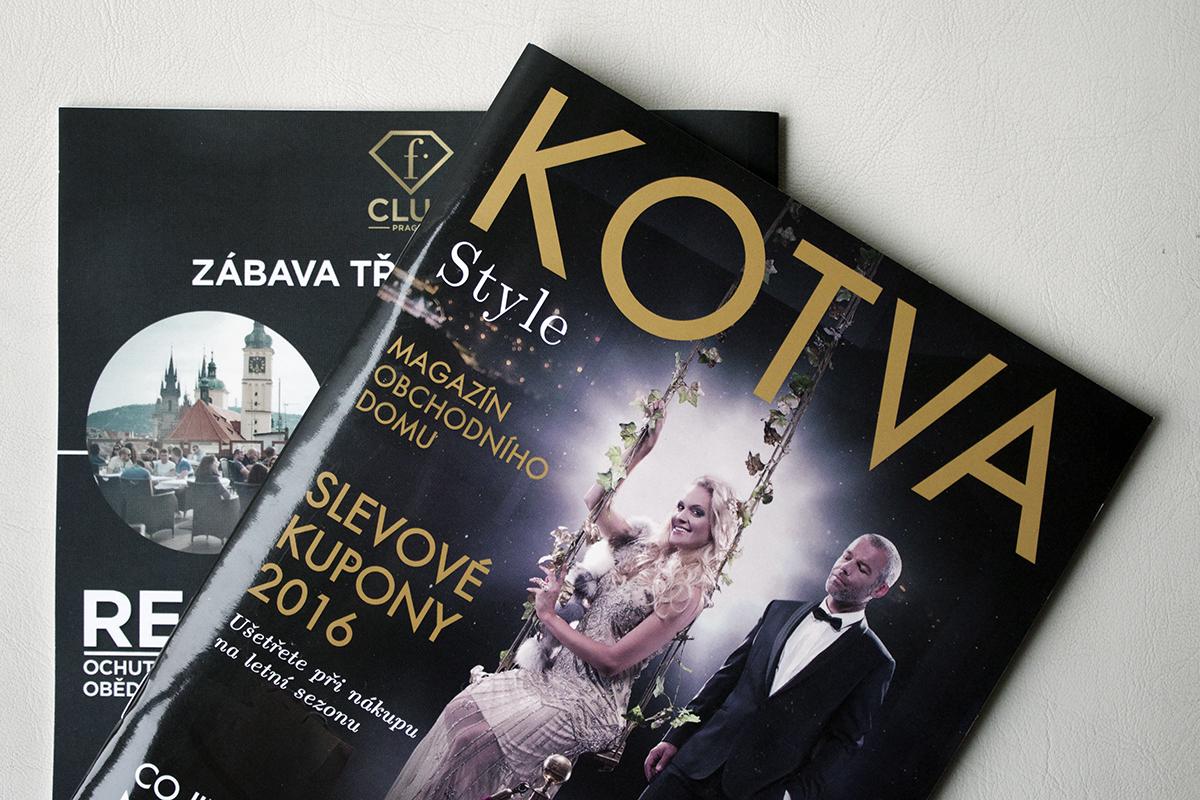 Kotva vydává první číslo Kotva Style magazínu