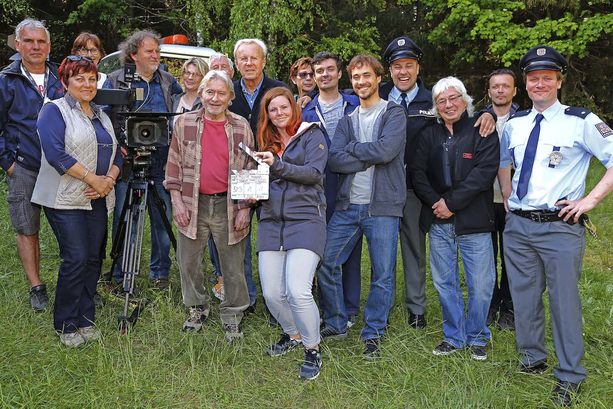 Tým druhé řady seriálu Policie Modrava. Foto: TV Nova