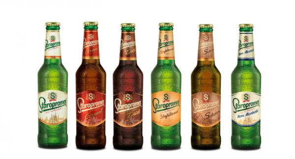 Nový design pro export piva Staropramen