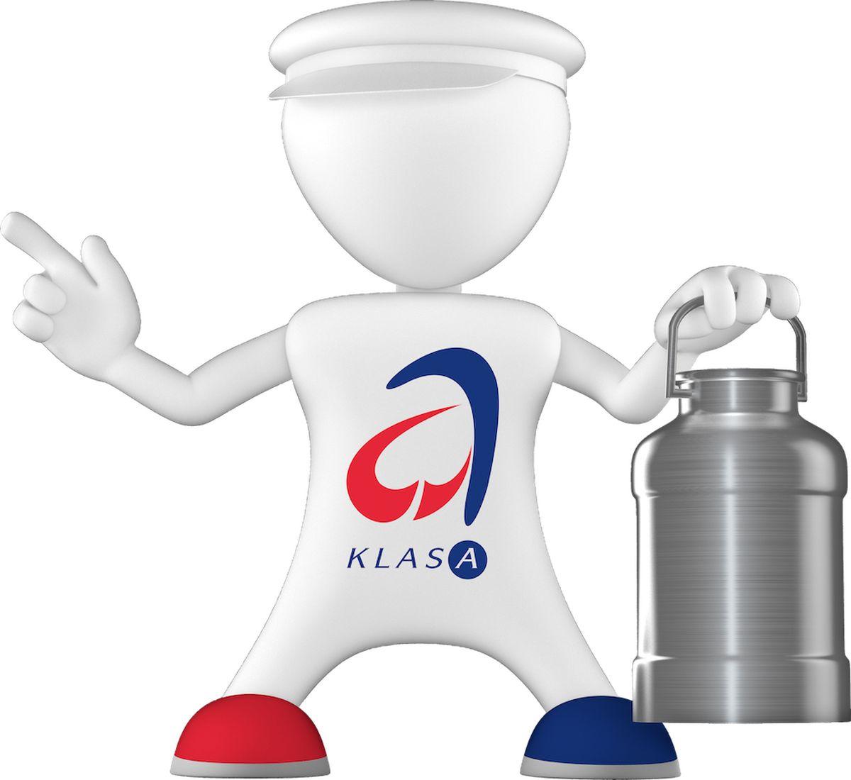 """Maskot projektu, """"panáček kvality Klasáček"""", se v první fázi kampaně představí jako mlékař"""
