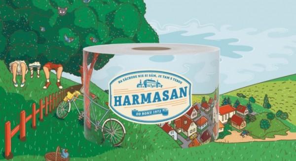 Harmasan prošel rebrandingem a spouští retro kampaň