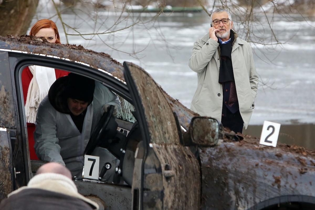 Jiří Bartoška v hlavní roli seriálu Mordparta. Foto: TV Prima