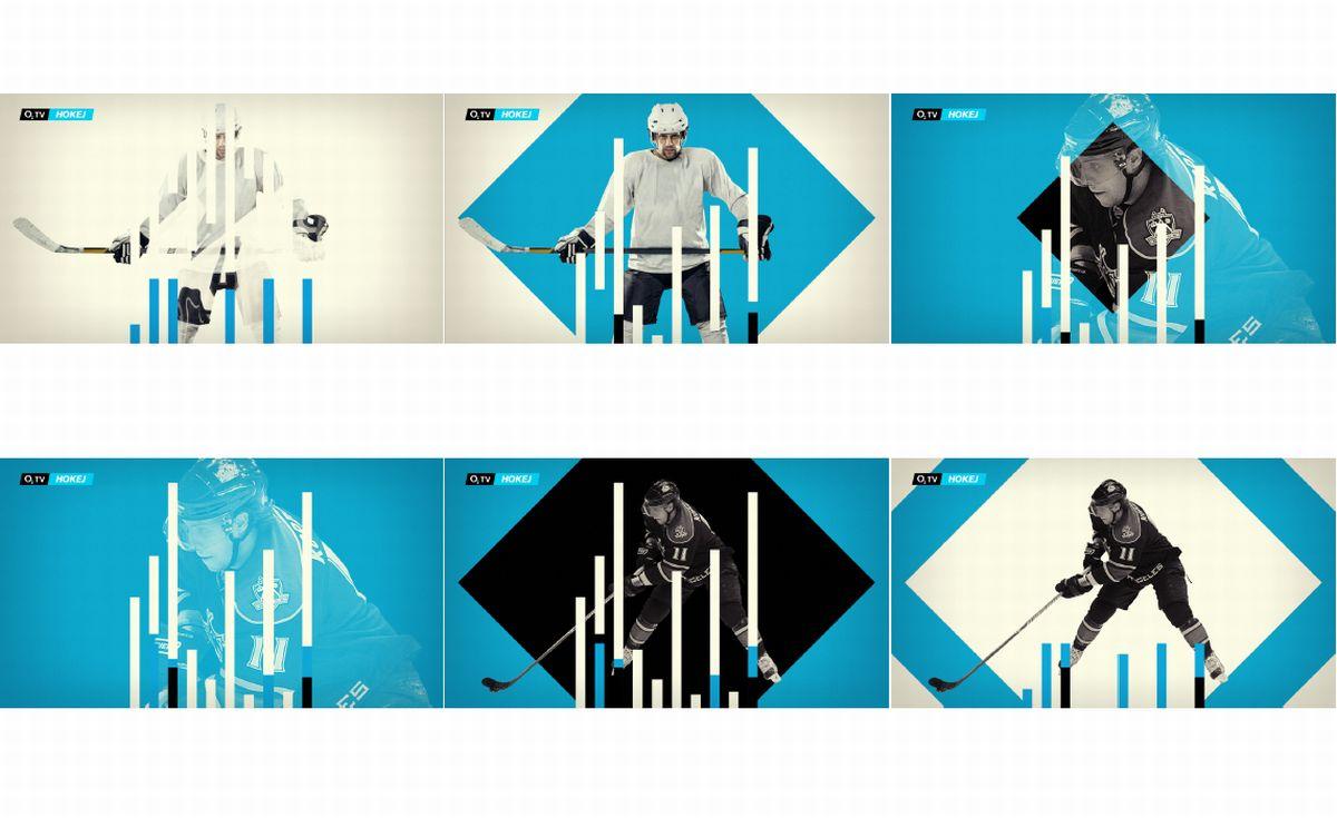 Ukázky vizuálního stylu jednotlivých stanic