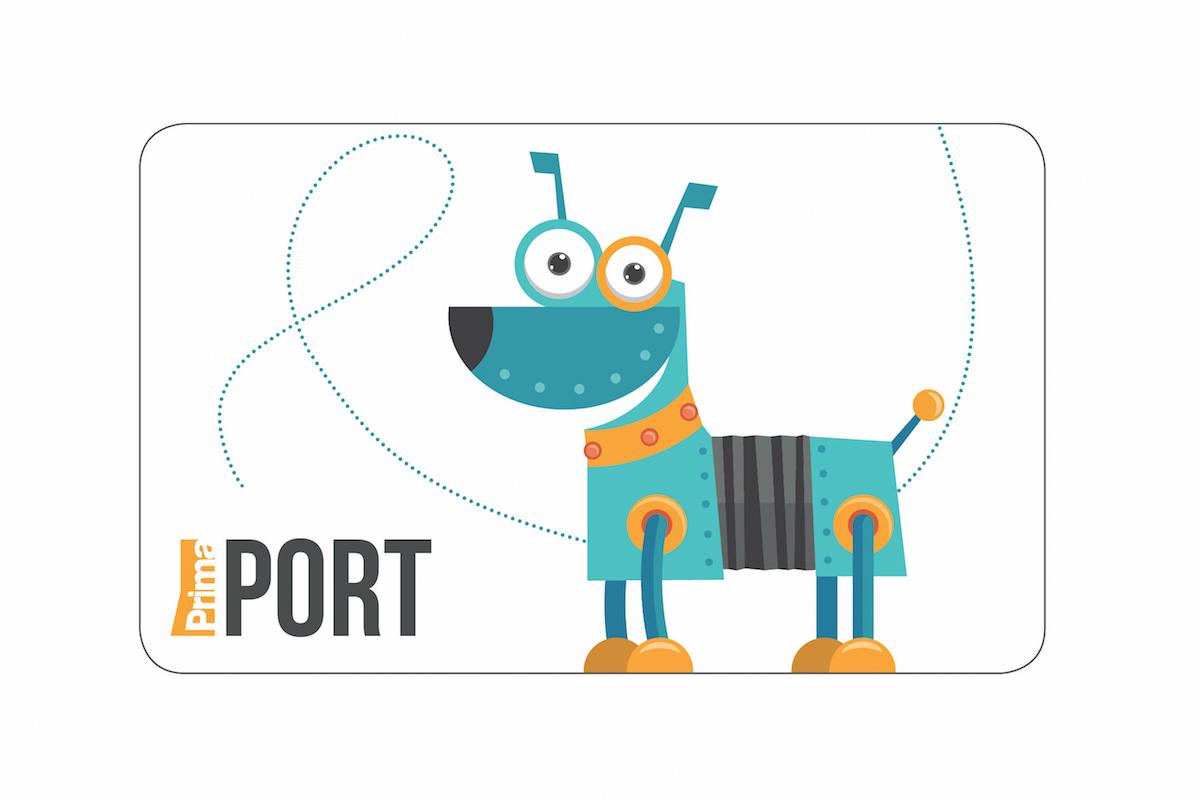 Maskotem věrnostní karty Port je pes. Foto: TV Prima