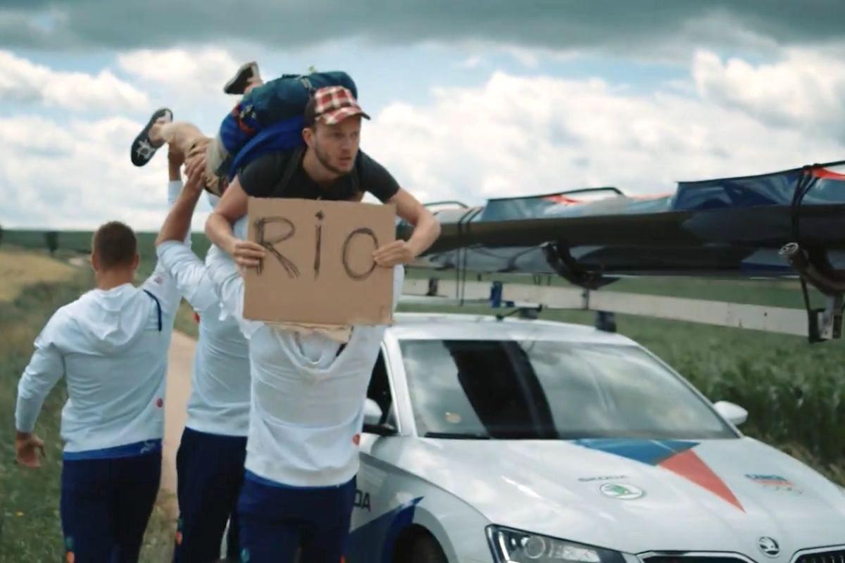 Olympijská kampaň Škody Auto