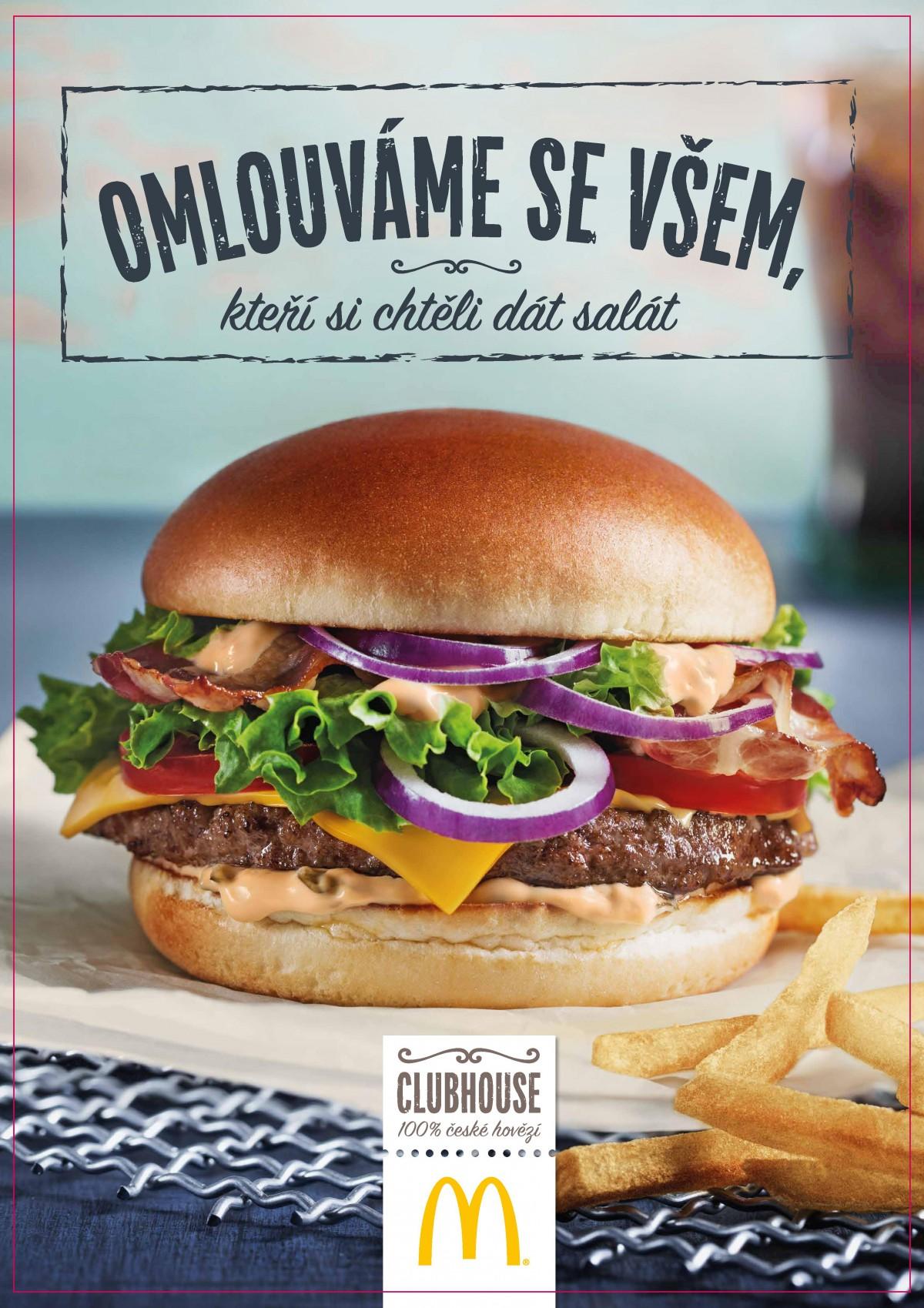 McDonald's se omlouvá těm, co si chtěli dát salát