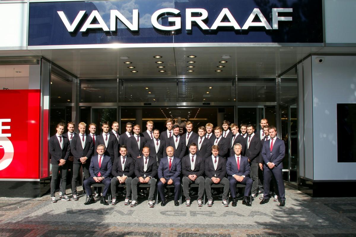 Módní dům Van Graaf prodlužuje spolupráci s hokejisty HC Sparta Praha