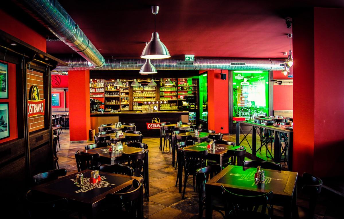 První restaurace Ostravaru se otevřela v části Ostrava-Jih