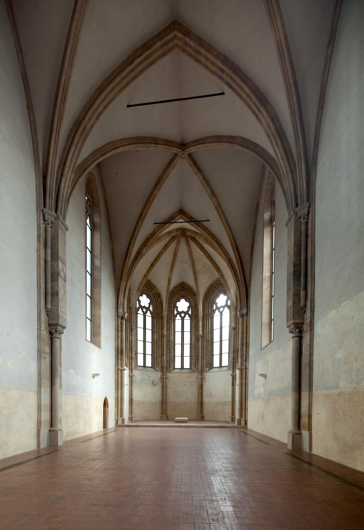 Místem konání akce je pražský klášter svaté Anežky České