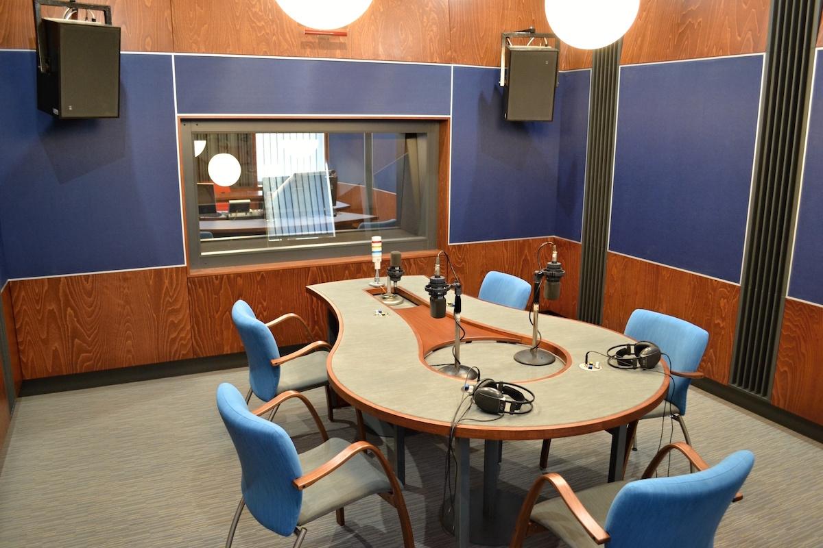 Nové studio v Ostravě. Foto: Český rozhlas