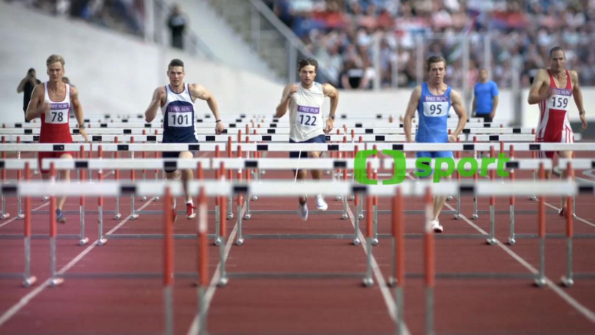 Z nových znělek ČT Sport: atletika
